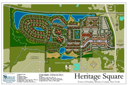Project Examples Schultz Associates Rochester NY Land - Town of sweden zoning map